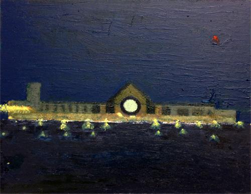 Alexandra Palace at Night