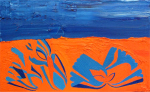Composition in Blue and Orange, 2015