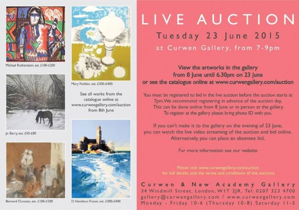 Curwen Auction