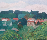 Muswell Hill, Viewed from Montenotte Road, Crouch End, 2016