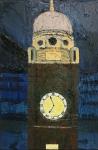 The Clocktower, Crouch End, Winter Evening