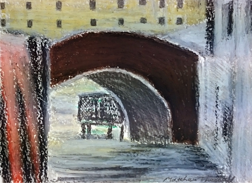 Bridge at Salute, Venice