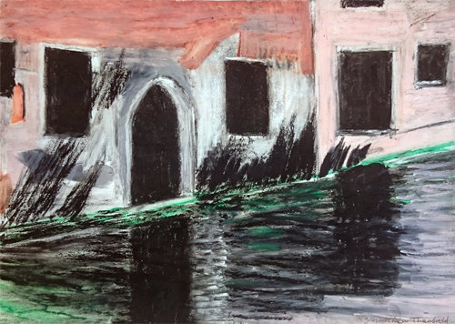 Reflections on the Water, San Zaccaria, Venice
