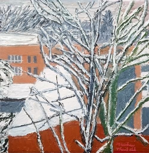 Snowfall at Hornsey