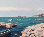 The Sea at Naples, Italy, 2019-2020